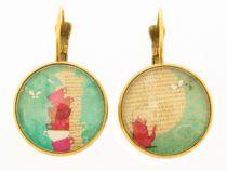 Boucles d\'oreilles originales théière Liligambettes
