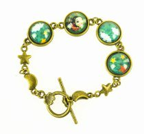 Bracelet coloré Chloé Rémiat thème cirque Lili gambettes