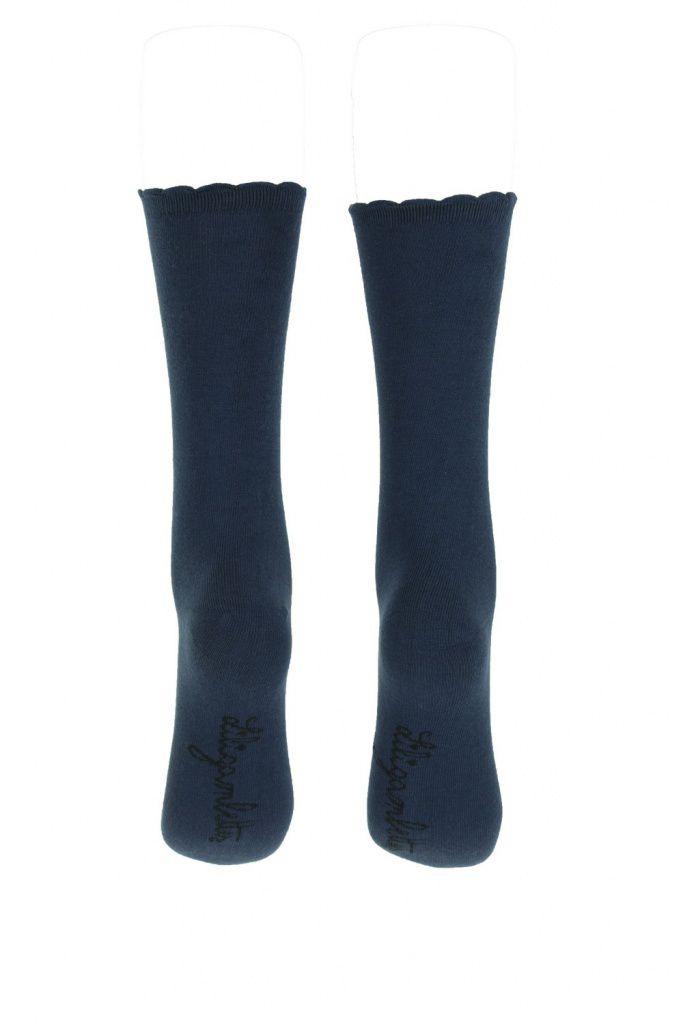 Chaussettes bleu marine Lili gambettes