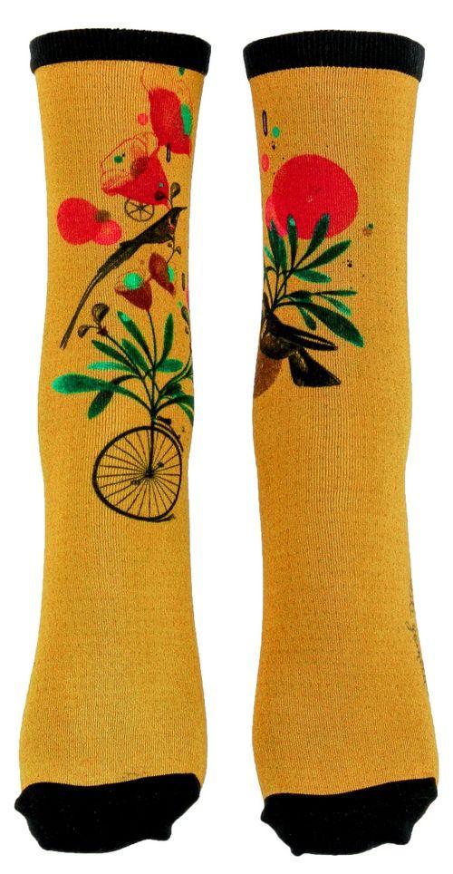 Chaussettes colorées colibri Liligambettes