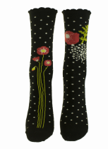 Chaussettes coquelicots écologiques Liligambettes