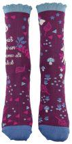 Chaussettes en coton bio pour femme licorne Liligambettes