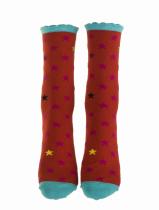Chaussettes étoiles en coton bio Liligambettes