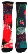 Chaussettes fantaisie coquelicots Liligambettes