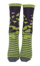 Chaussettes fantaisie coton biologique Liligambettes