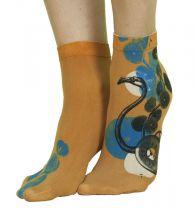 Chaussettes fantaisie femme Liligambettes thème flamand