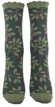 Chaussettes femme colorées écologiques ulmus Liligambettes