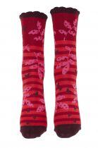 Chaussettes femme coton biologique Liligambettes thème folio