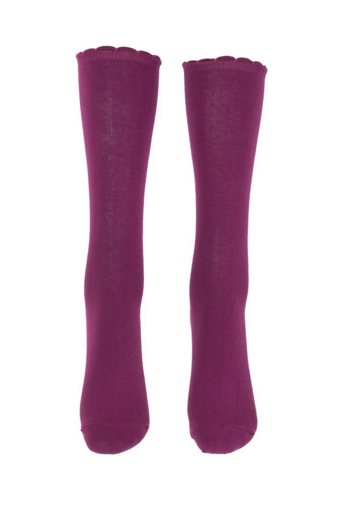 Chaussettes fushia lili gambettes