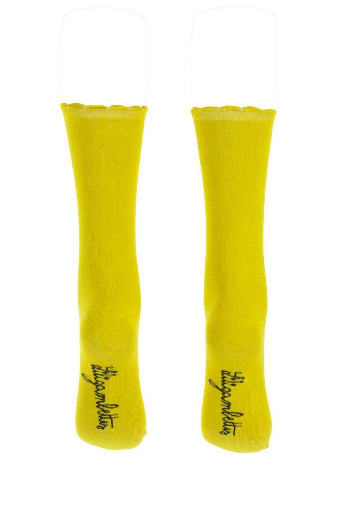 Chaussettes jaunes Lili gambettes