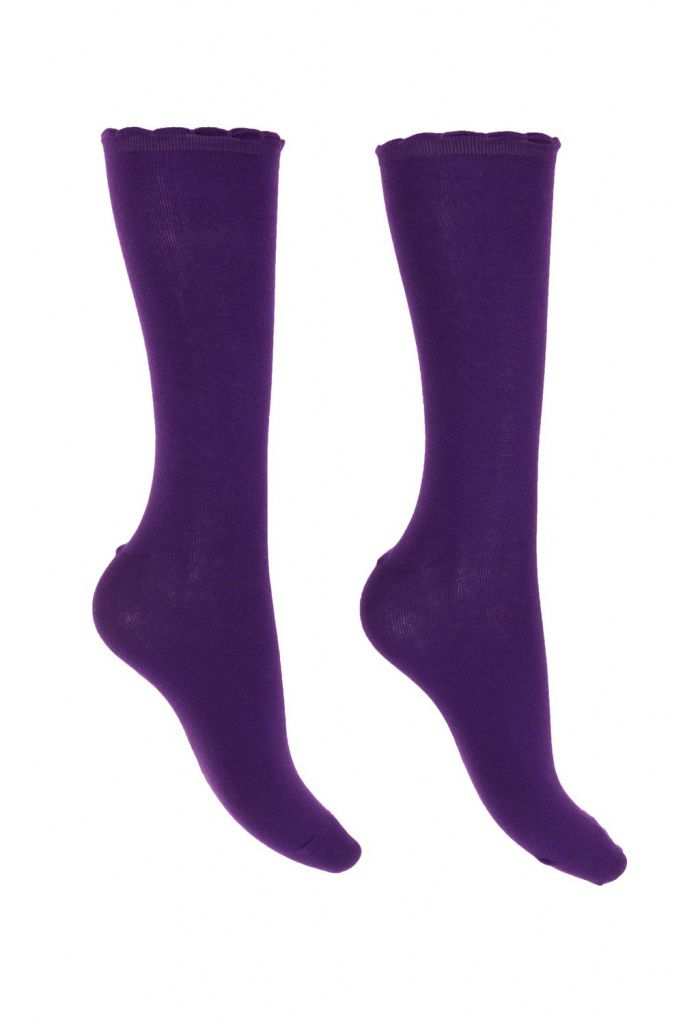 Chaussettes mauves Lili gambettes