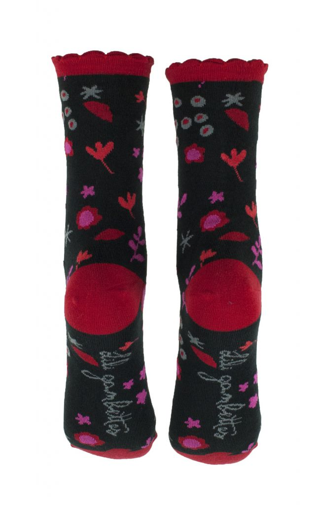 Chaussettes originales écologiques Liligambettes thème liberty