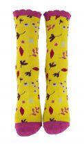 Chaussettes rigolotes écologiques Liligambettes thème liberty