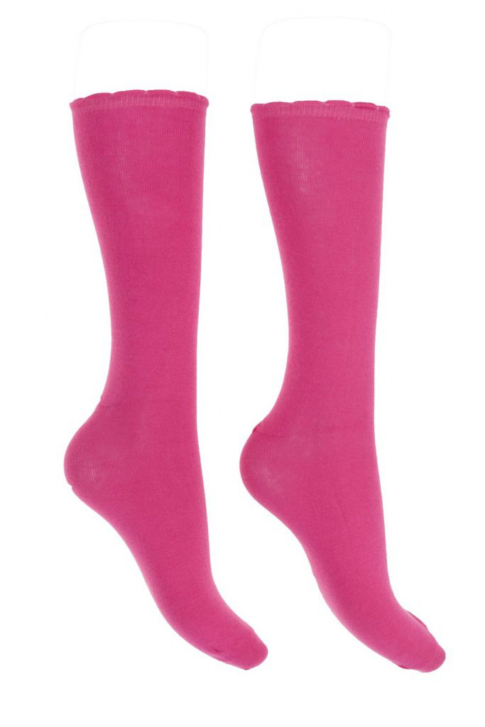 Chaussettes rose Lili gambettes