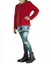 Collants enfants imprimés bleus « O » Lili gambettes