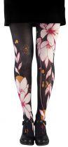 Collants femme de qualité flower Liligambettes