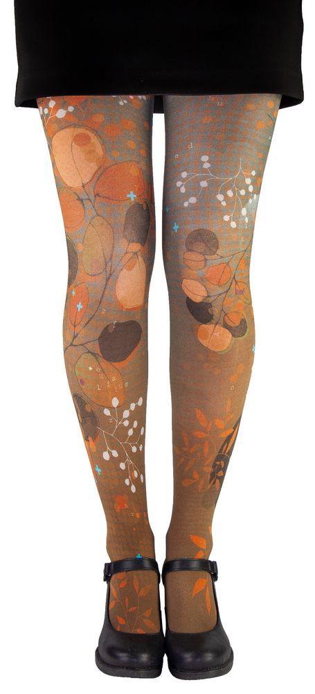 Collants femme originaux eucalyptus Liligambettes