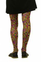 Collants imprimés Lili gambettes thème Carré pop