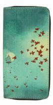 Compagnon portefeuille oiseaux bleus Liligambettes