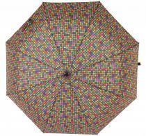 Parapluie court automatique carré pop Lili gambettes