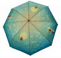 Parapluie imprimé théière Liligambettes